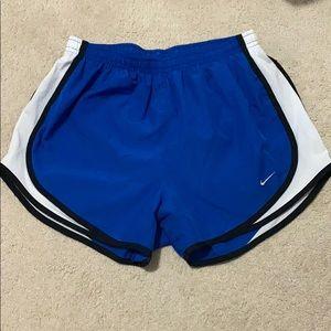 Nike Blue Running Shorts